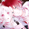 genusshrike: Icon of Yui and Laito from Diabolik Lovers. (diabolik lovers)