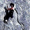 cofax7: me on a rock wall climbing (Indian Springs)
