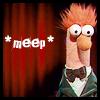 cofax7: Beeker the Muppet saying *meep* (Beeker Meep)