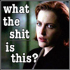 cofax7: Scully is pissed off (XF - Scully What the shit?)