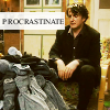 glamjam: (Black Books; procrastination)
