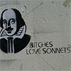 metaphorliteral: (bitches love sonnets)