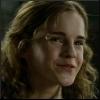alt_hermione: Hermione smiling. (smile)