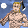 seekingvinland: (shirtless with axe)