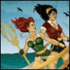 navaan: (DC comics Bombshells Diana and Mera)