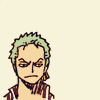 atadesert: (Zoro unimpressed)