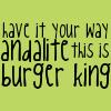 ser_pounce_alot: (Animorphs // Burger King)
