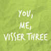 recrudescence: (visser kisser)