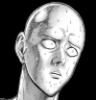 emmywarrior: Saitama with a disgusted look (anime, One Punch Man, Saitama)