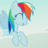 elementofloyalty: (happy dashie)