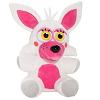 manglefox: Tiny adorable furry plush of Foxxie, white background, bright lighting. (Foxxie)