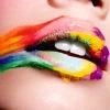 amandaink: (Rainbow Lips)