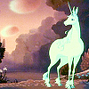 faggotry: picture of the last unicorn at dusk (Default)