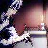 tarnera: (Mushishi - Ginko writing)