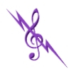 acelightning: G-clef crossed by lightning bolt (music03)