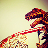 rikke_leonhart: Dinosaur rollercoaster (Dinosaur rollercoaster)