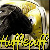 supergreak: Yellow converse shoes of a Hufflepuff (shoes)