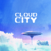 anaraine: A glimpse of the mining colony Cloud City, floating in the in the wispy white clouds of Bespin. ([star wars] cloud city)