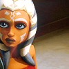 anaraine: Ahsoka Tano, looking up with an expression of mild disbelief. ([star wars] young eyes)