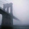 phinnia: bridge partly obscured by fog (foggy bridge)
