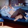quadruples: (COUCH ♡ with the doge)