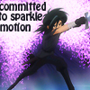 sandrylene: Fakir from Princess Tutu gestures through a cloud of sparkles (fakir is dedicated to sparkle motion)