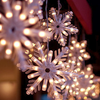 oaktree: Light-up artificial snowflakes (snow lights)