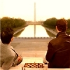 oaktree: Charles Xavier and Erik Lehnsherr from X-Men: First Class view the Mall in Washington, D.C. (washington love)
