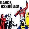 erinna: (tf: dance assholes)