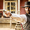 apollymi: Vasquez firing his gun, no text (Mag7**Vasquez: Out of focus)