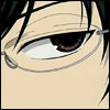sandrylene: Kyouya from Ouran High School Host Club - closeup of his eye (kyouya is watching)
