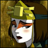 sandrylene: Suki from Avatar: The Last Airbender looks sad (suki is sad)
