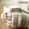 carrie: Warm hands on a coffee mug. (coffee warm hands)