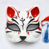 kuukokujinjanozenko: A traditional shinto fox mask (Zenko - Mask)