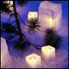 umadoshi: (winter - candles in snow)
