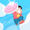 everchangingmuse: steven universe with rose shield (steven universe)