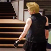 rionaleonhart: final fantasy xv: prompto, the best character, with a touch of swagger. (looking ahead)