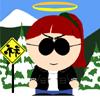 diannelamerc: An image of me, South Park style (SP Dee)