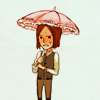 cazrolime: Daniel from Amnesia looks grumpy and has a pink parasol. (amnesia . but it looks ridiculous!)