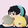 adevyish: Icon of Yuuri, Victor, and Yuri plushies (dream team)