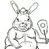 ufm: (rabbit)