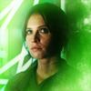 monanotlisa: Jyn in green. (jyn erso - rogue one)