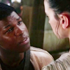 monanotlisa: Finn looking at Rey the way you want your person to look at you (rey/finn - the force awakens)