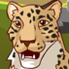 tornir: A friendly looking leopard.taken from an online icon maker. (Default)