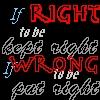 kiya: (right-wrong)