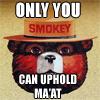 kiya: (uphold maat)
