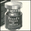 "subbes: A line-drawing of a jar labelled ""Brand's Essence of Chicken"" (Default)"