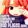 incardine: (Fandom in bad places)