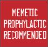 dewline: (memetic prophylactic recommended, meme-defence, warning, mental health)