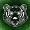 rambl3: green tribal bearface (Default)